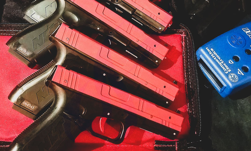 firearms training is safe with SIRT pistols