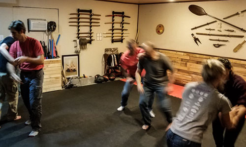 the forge self defense drills